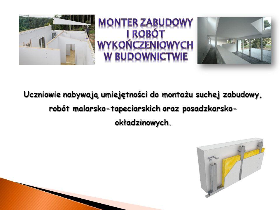 """Zapraszamy do cieszyńskiej """"Budowlanki !.Z nami zdobędziesz zawód!!."""