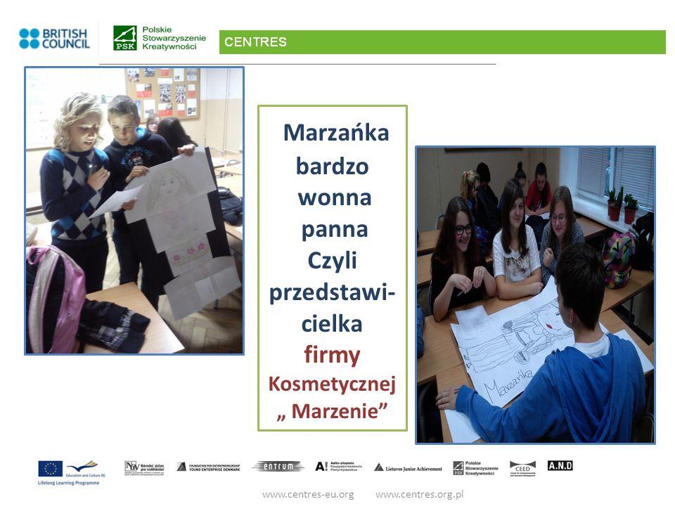 """Marzańka bardzo wonna panna Czyli przedstawi- cielka firmy Kosmetycznej """" Marzenie"""