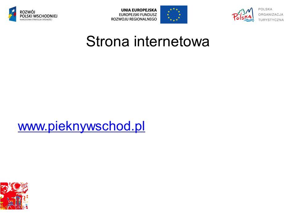 Strona internetowa www.pieknywschod.pl