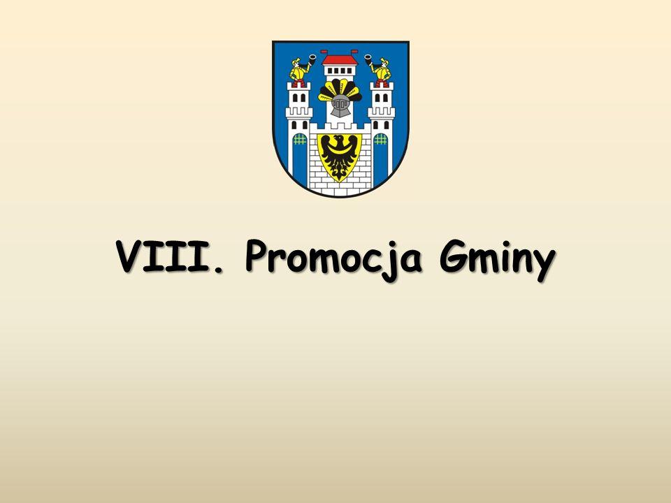 VIII. Promocja Gminy