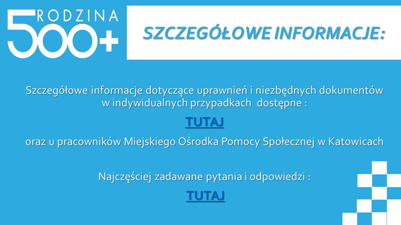SZCZEGÓŁOWE INFORMACJE: Szczegółowe informacje dotyczące uprawnień i niezbędnych dokumentów w indywidualnych przypadkach dostępne : TUTAJ oraz u praco