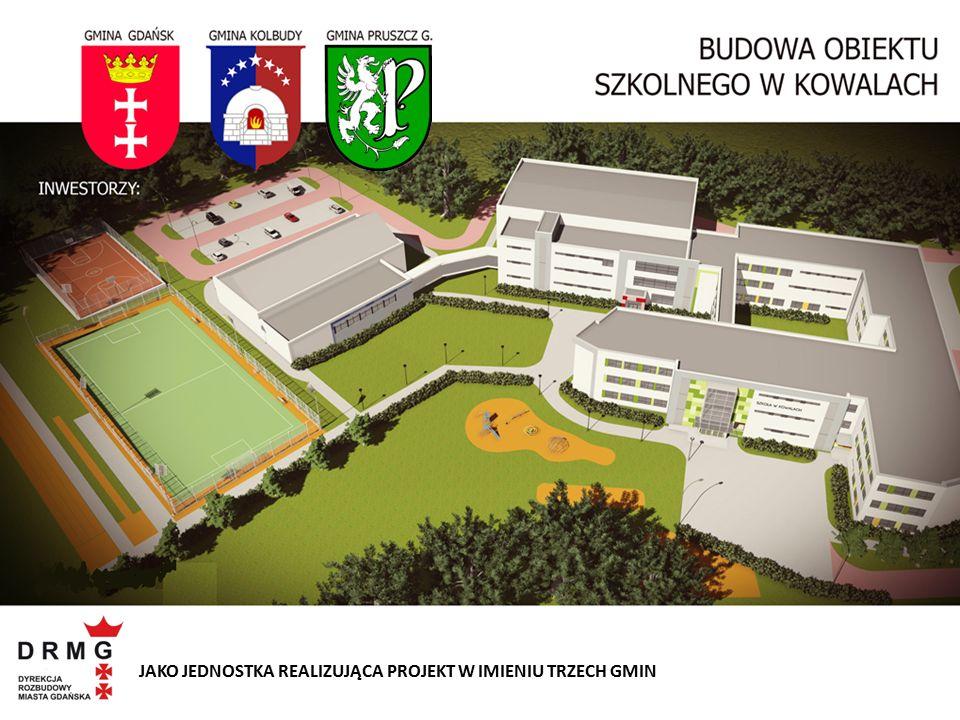 Projekt opracowany na podstawie adaptacji typowej dokumentacji projektowej dla budowy szkoły podstawowej przy ulicy Azaliowej w Gdańsku.