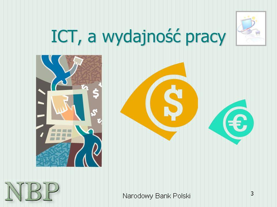 3 ICT, a wydajność pracy