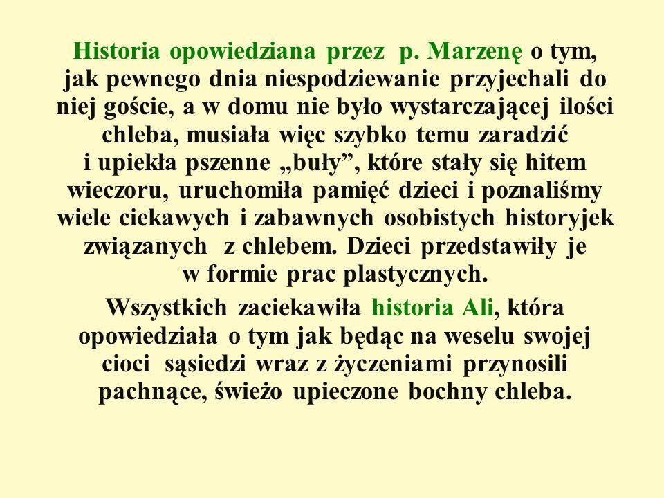 Historia opowiedziana przez p.