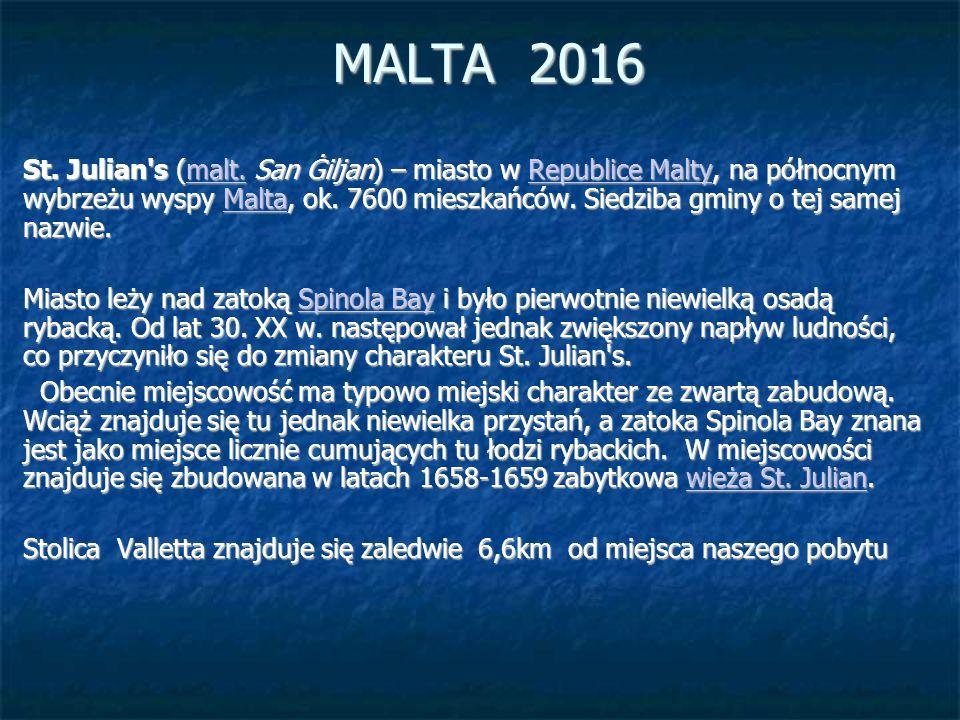 MALTA 2016 St. Julian s (malt.