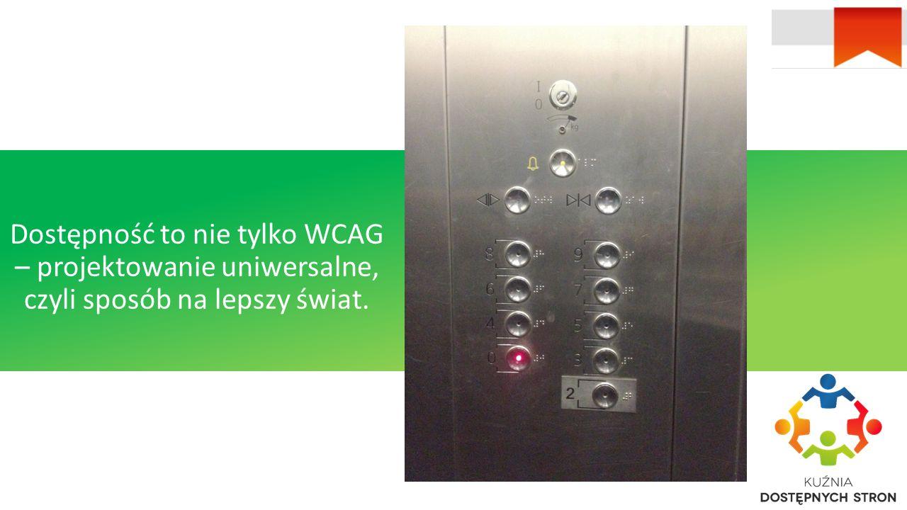 Dostępność to nie tylko WCAG – projektowanie uniwersalne, czyli sposób na lepszy świat.