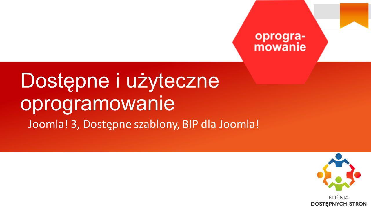 Dostępne i użyteczne oprogramowanie Joomla! 3, Dostępne szablony, BIP dla Joomla!