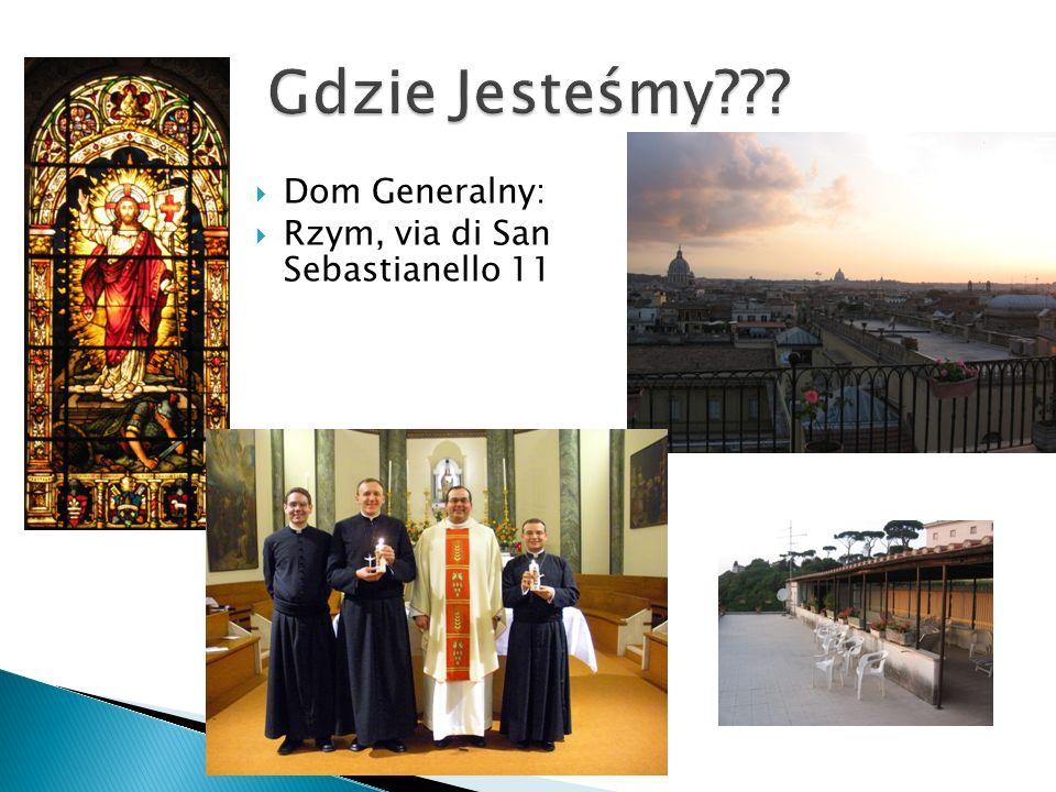  Dom Generalny:  Rzym, via di San Sebastianello 11