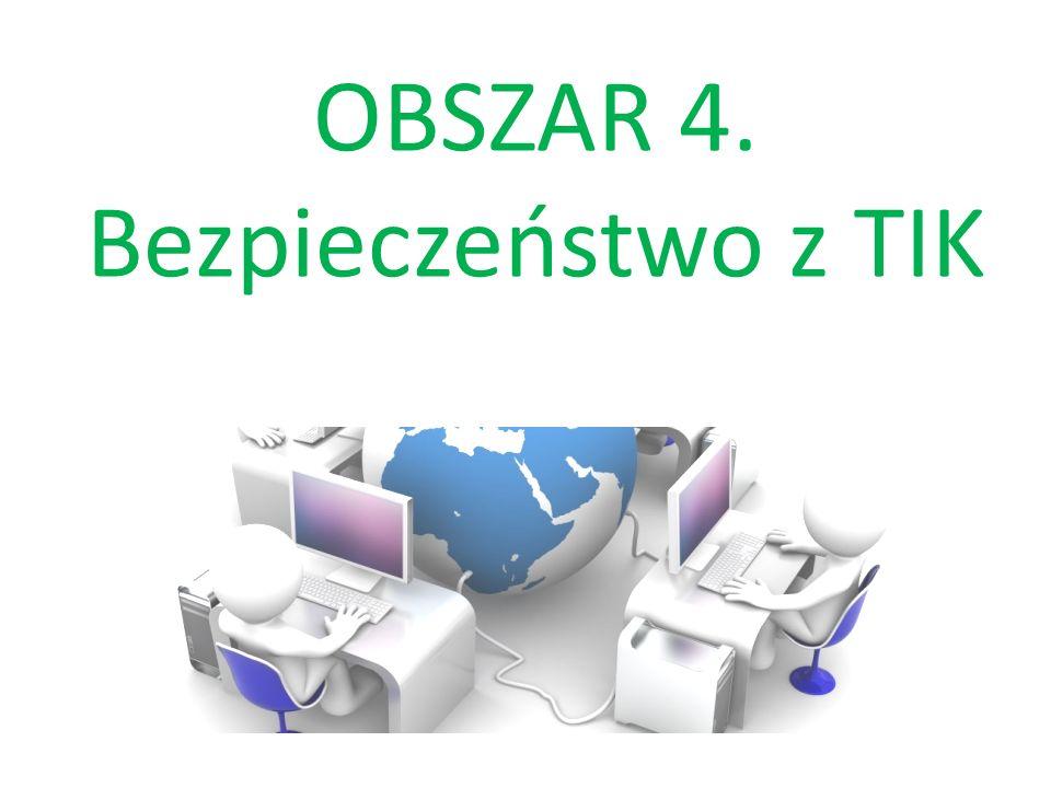 OBSZAR 4. Bezpieczeństwo z TIK