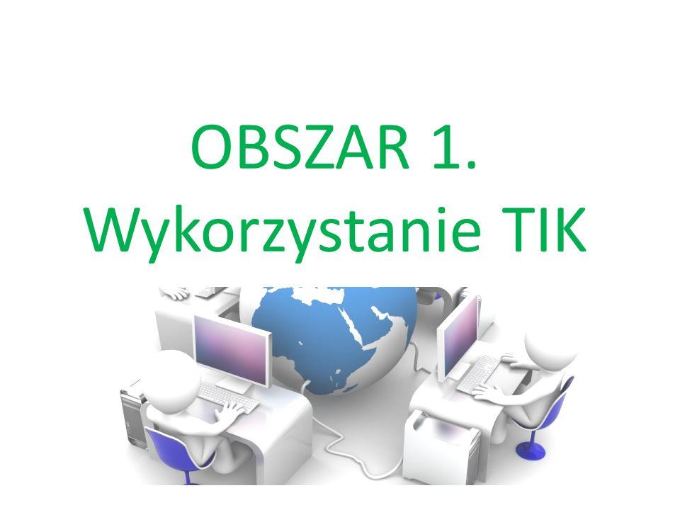 OBSZAR 3. Komunikacja z TIK