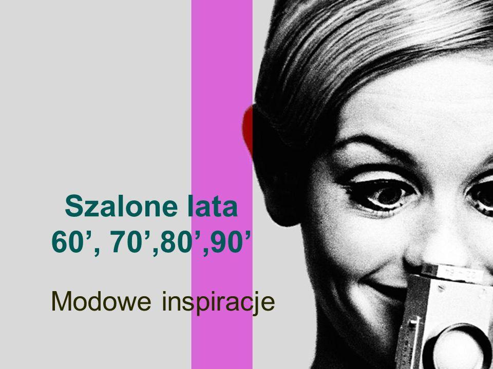Ikony lat '60 Twiggy Brigitte Bardot