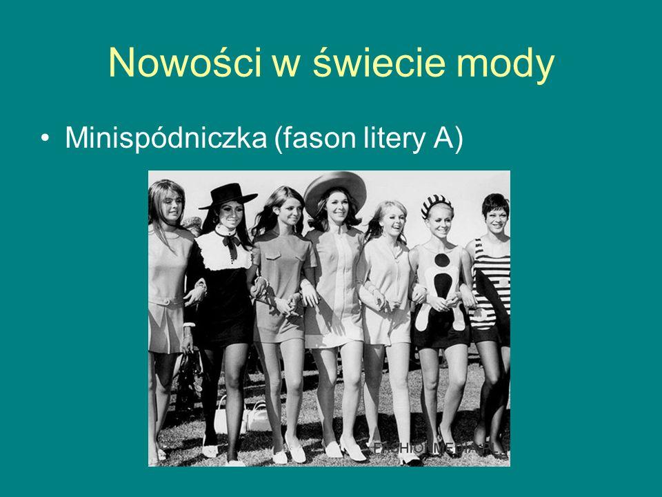 Nowości w świecie mody Minispódniczka (fason litery A)