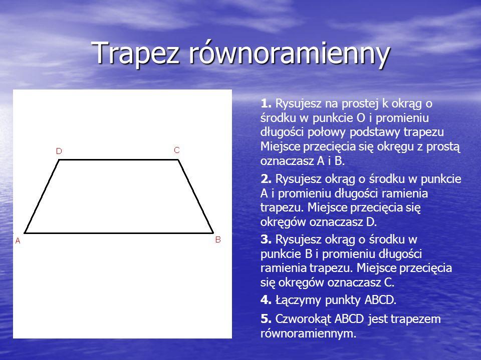 Trapez równoramienny 1.
