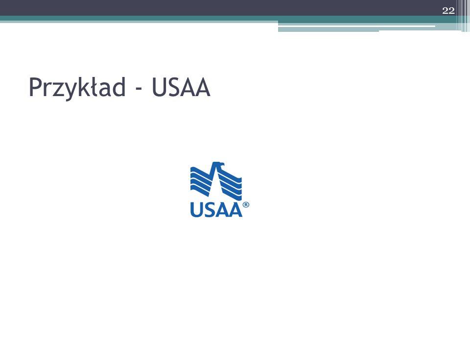 Przykład - USAA 22