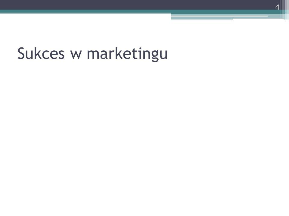 Sukces w marketingu 4