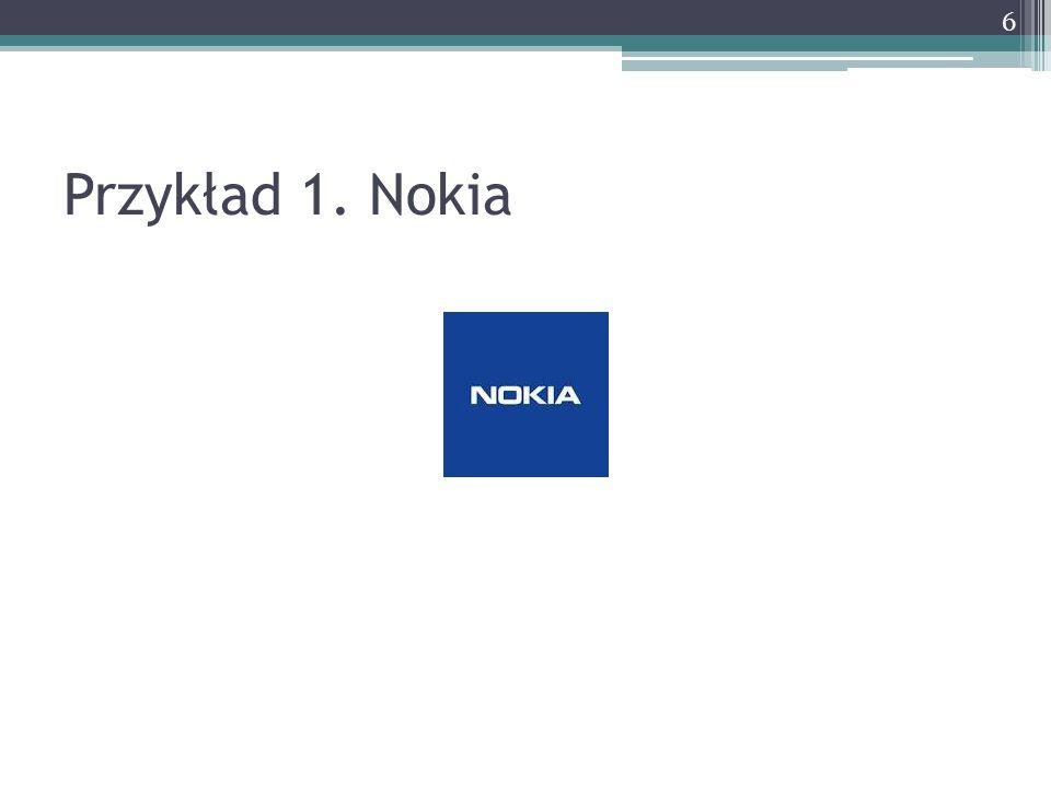 Przykład 1. Nokia 6