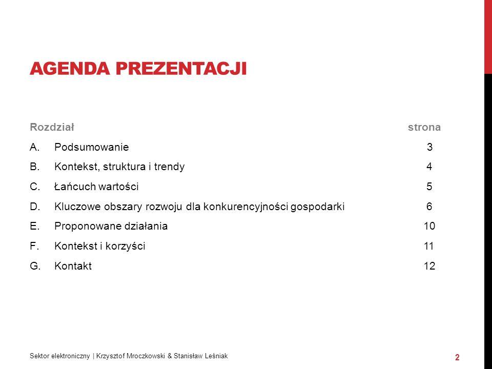 """PODSUMOWANIE Polskie Lobby Przemysłowe wraz z NSZZ """"Solidarność (Sekretariat Metalowców) wystosowały do rządu stanowisko w sprawie przemysłu elektronicznego."""