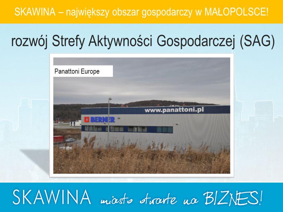 Panattoni Europe SKAWINA – największy obszar gospodarczy w MAŁOPOLSCE.
