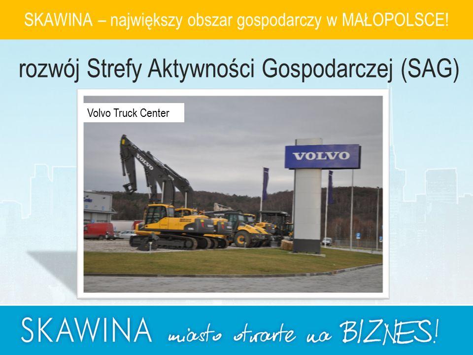 Volvo Truck Center SKAWINA – największy obszar gospodarczy w MAŁOPOLSCE.