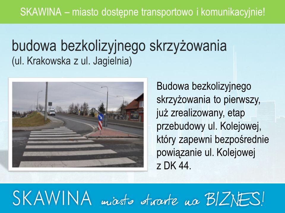 SKAWINA – miasto dostępne transportowo i komunikacyjnie.