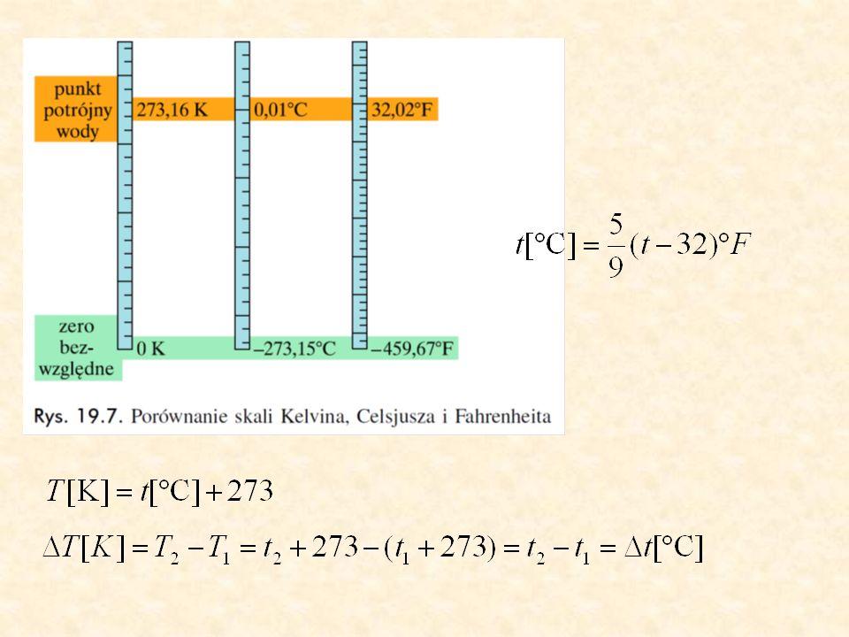 Wilgotność powietrza Para w stanie równowagi z cieczą – para nasycona W atmosferze znajduje się para wodna – wilgotność wilgotność względna – stosunek ilości pary wodnej znajdującej się w danej temperaturze w określonej ilości powietrza do ilości pary, która nasyciłaby powietrze o tej samej temperaturze i objętości