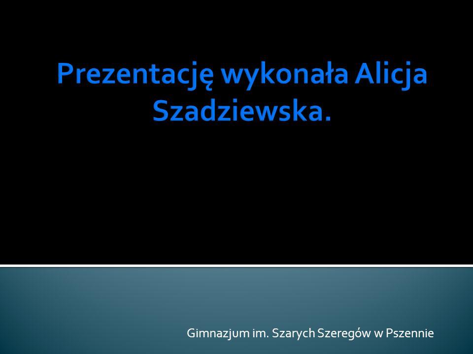 Gimnazjum im. Szarych Szeregów w Pszennie