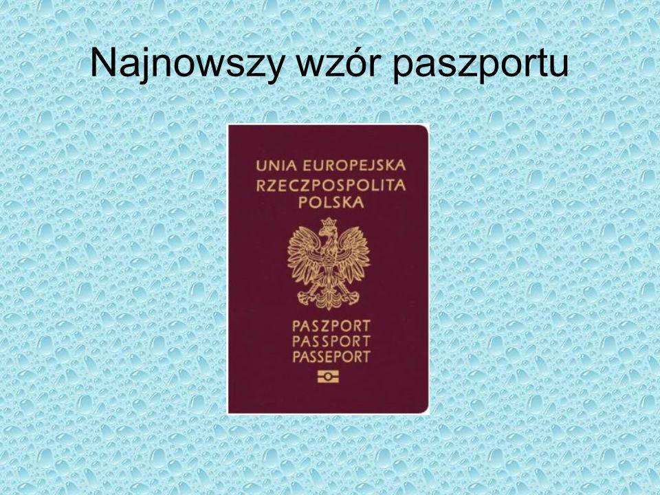 Najnowszy wzór paszportu