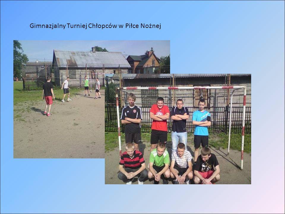 Gimnazjalny Turniej Chłopców w Piłce Nożnej