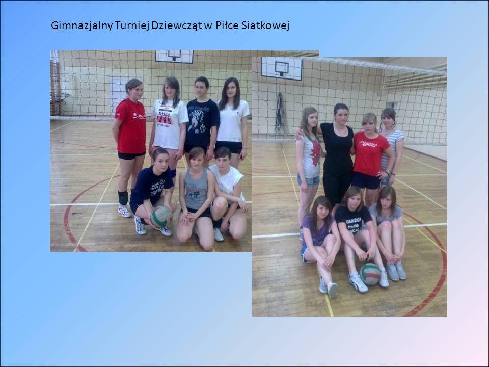 Gimnazjalny Turniej Dziewcząt w Piłce Siatkowej