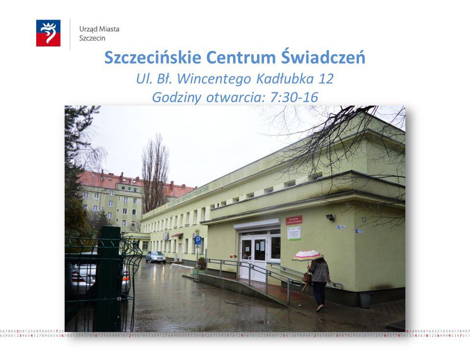 Szczecińskie Centrum Świadczeń Ul. Bł.