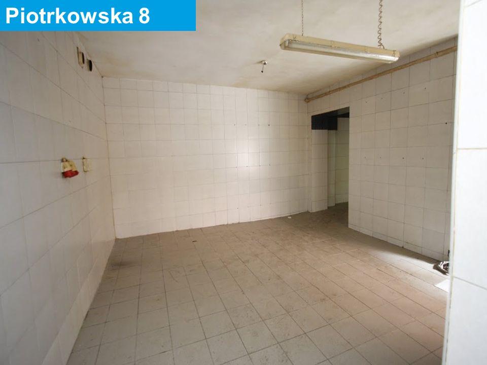 30 maja 2016 43 Piotrkowska 82 Powierzchnia lokalu: 54,28 m2 Ilość pomieszczeń: 2 Położenie: parter – poprzeczna oficyna Urządzenia techniczne: inst.