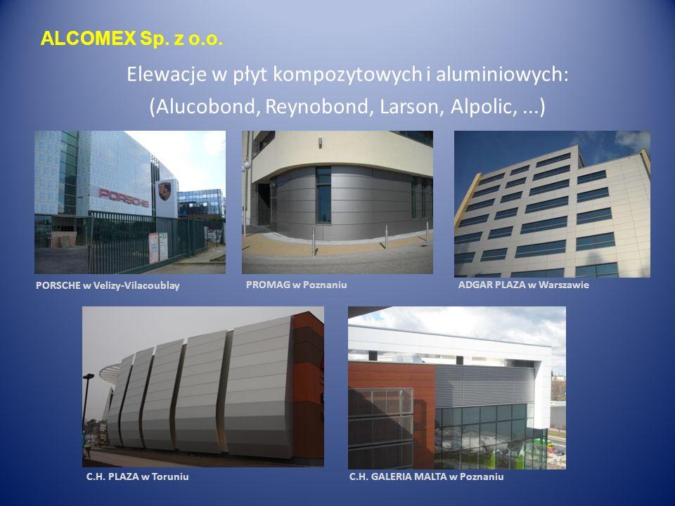 ALCOMEX Sp. z o.o. Żaluzje zewnętrzne: (Hunter-Douglas, Renson, Solar-tech,...)