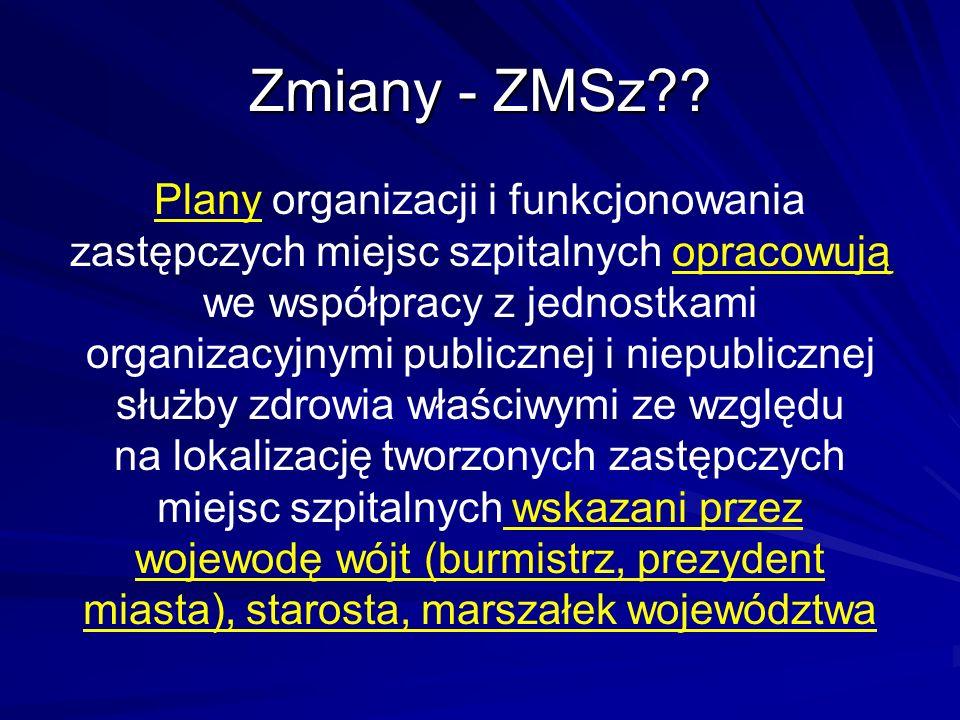 Zmiany - ZMSz?.