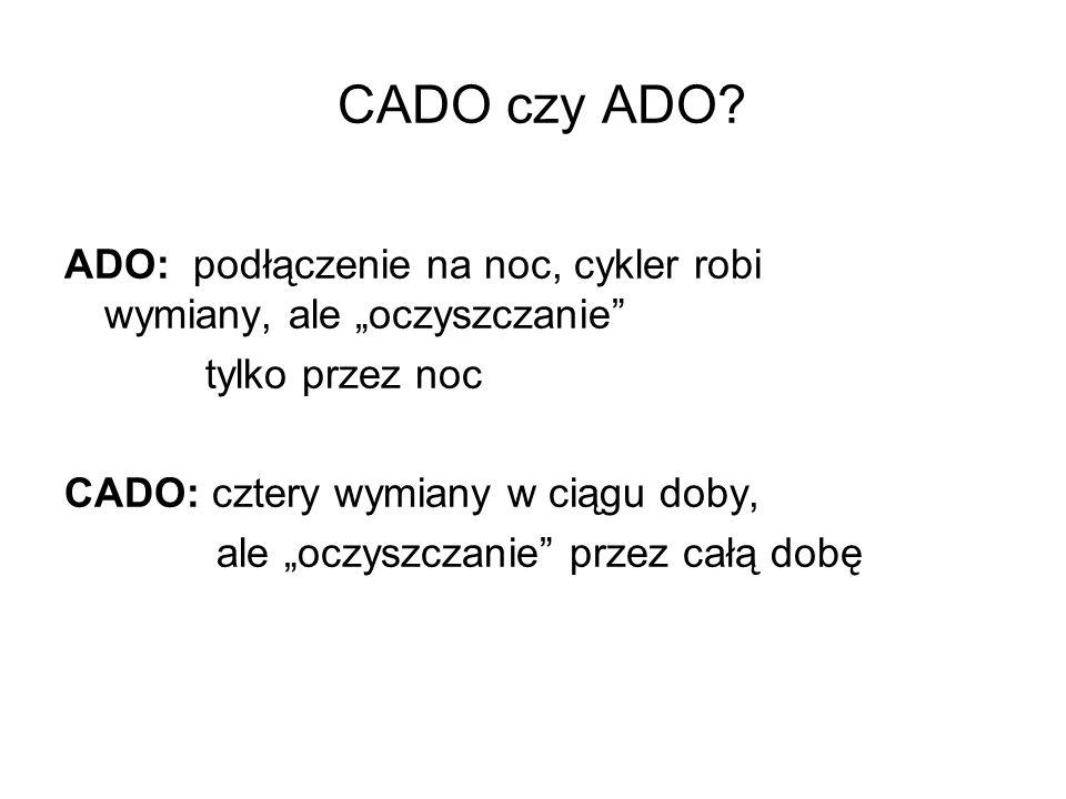CADO czy ADO.