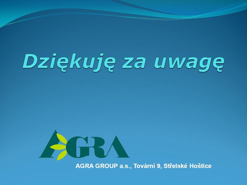 AGRA GROUP a.s., Tovární 9, Střelské Hoštice