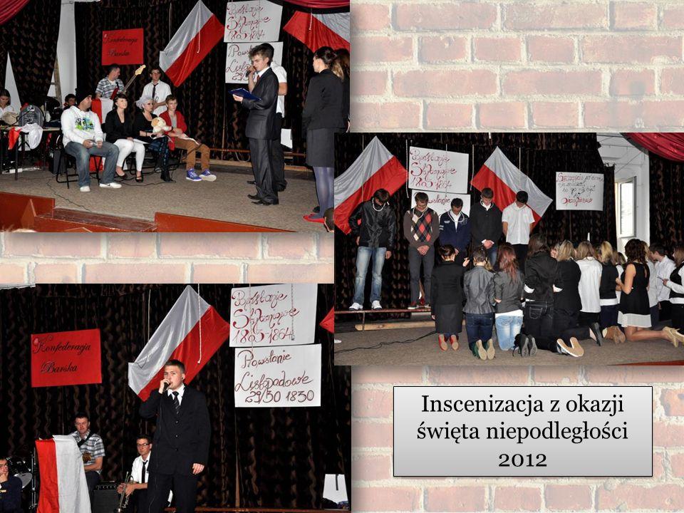 Inscenizacja z okazji święta niepodległości 2012