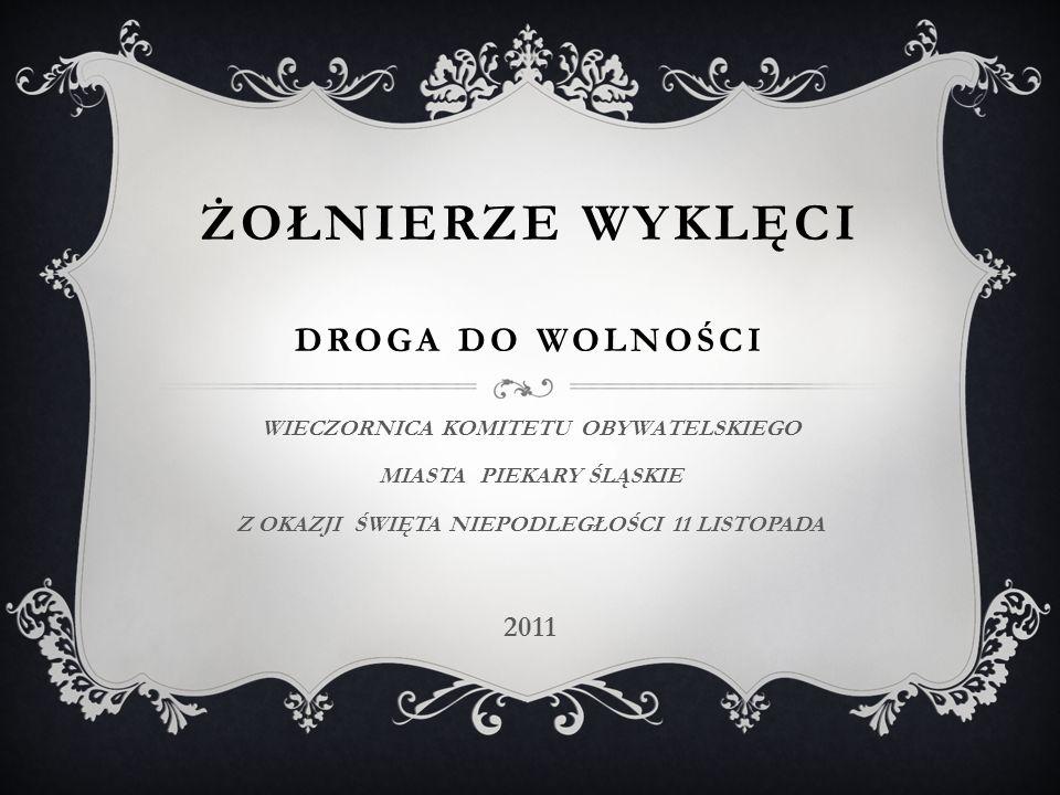 NAJSŁYNNIEJSZE ODDZIAŁY II KONSPIRACJI  oddziałami drugiej co do wielkości organizacji konspiracyjnej NZW dowodzili: mjr Franciszek Przysiężniak ps.