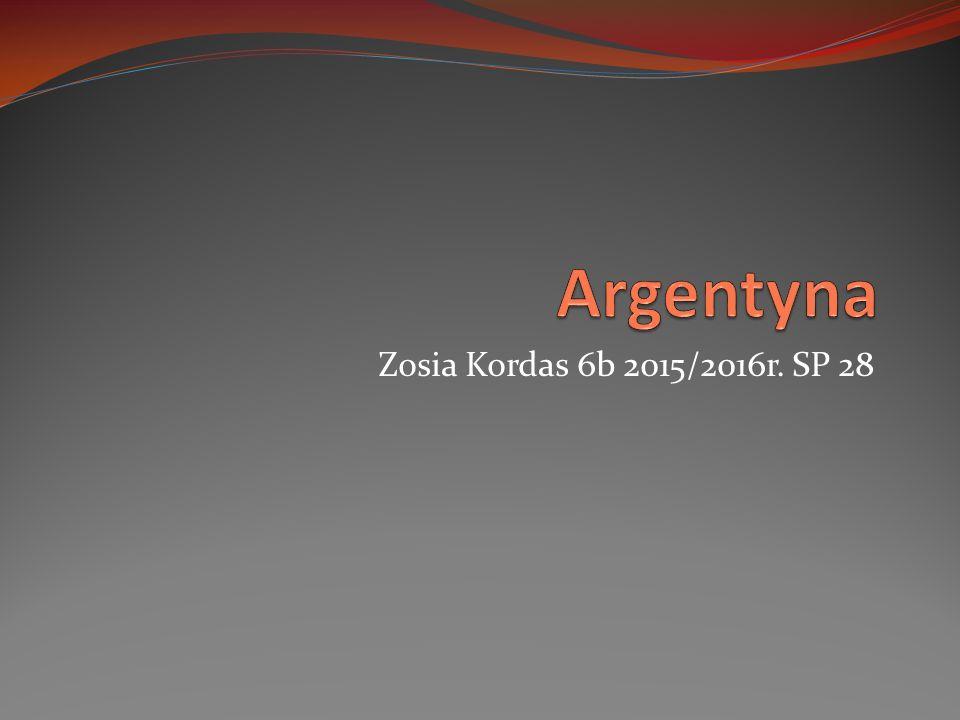 Zosia Kordas 6b 2015/2016r. SP 28
