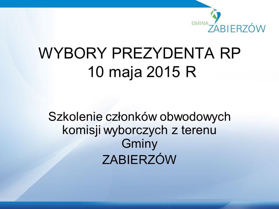 Wioletta Matejczyk -Urzędnik wyborczy Gminy Zabierzów -Pełnomocnik Okręgowej Komisji Wyborczej
