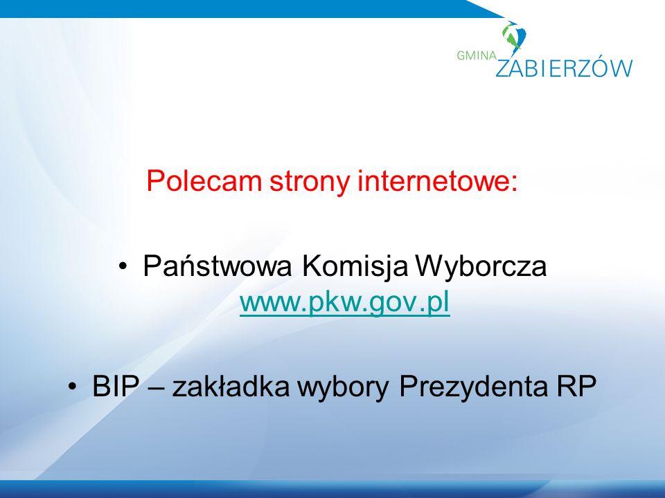 ZADANIA KOMISJI 8 maja 2015 r.- odbiór kart do głosowania.