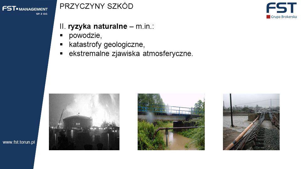 PRZYCZYNY SZKÓD II.