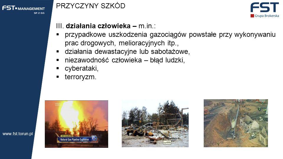 PRZYCZYNY SZKÓD III.