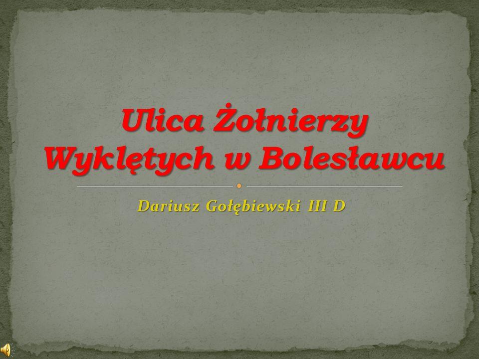 Dariusz Gołębiewski III D