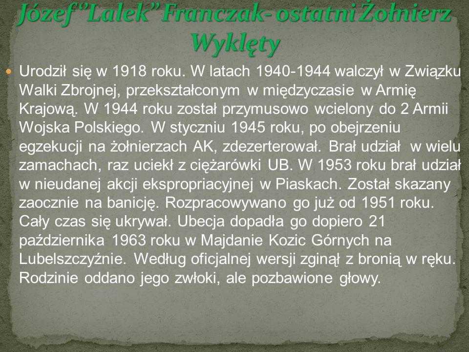 Urodził się w 1918 roku.