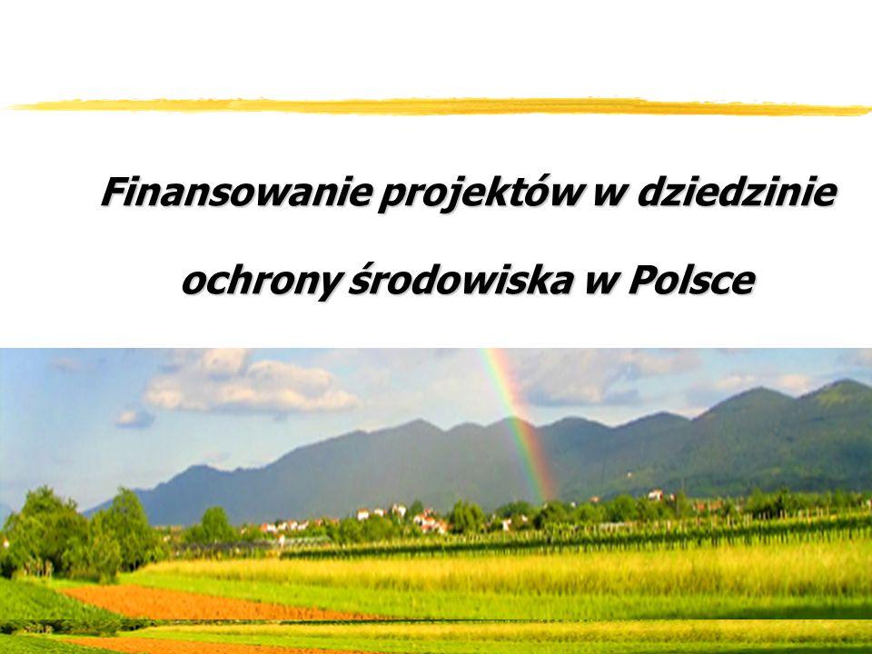 Finansowanie projektów w dziedzinie ochrony środowiska w Polsce