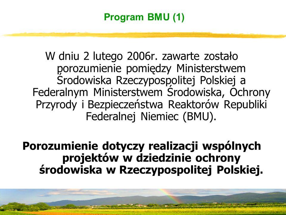 Program BMU (1) W dniu 2 lutego 2006r.