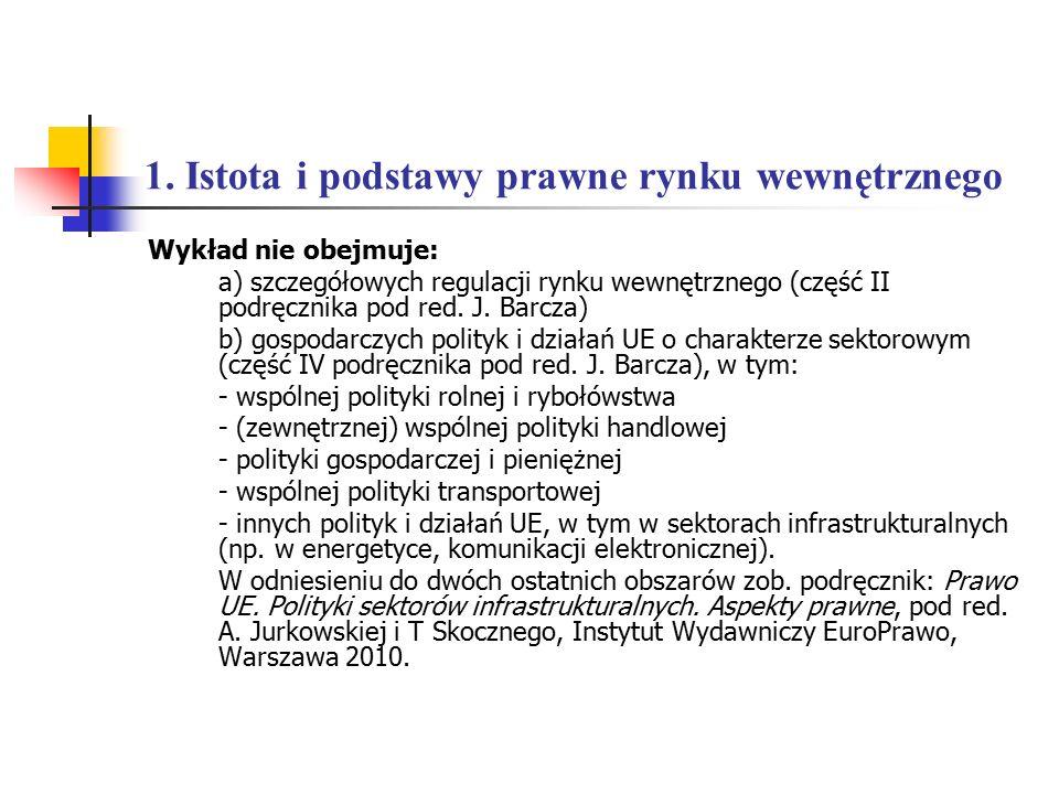5.Państwa członkowskie a konkurencja. 5.4. Konkurencja a pomoc publiczna H.