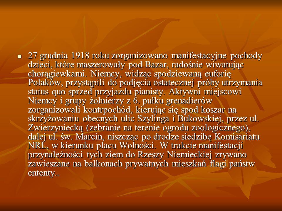 W gotowości bojowej czekały polskie oddziały Służby Straży i Bezpieczeństwa oraz Straży Ludowej.