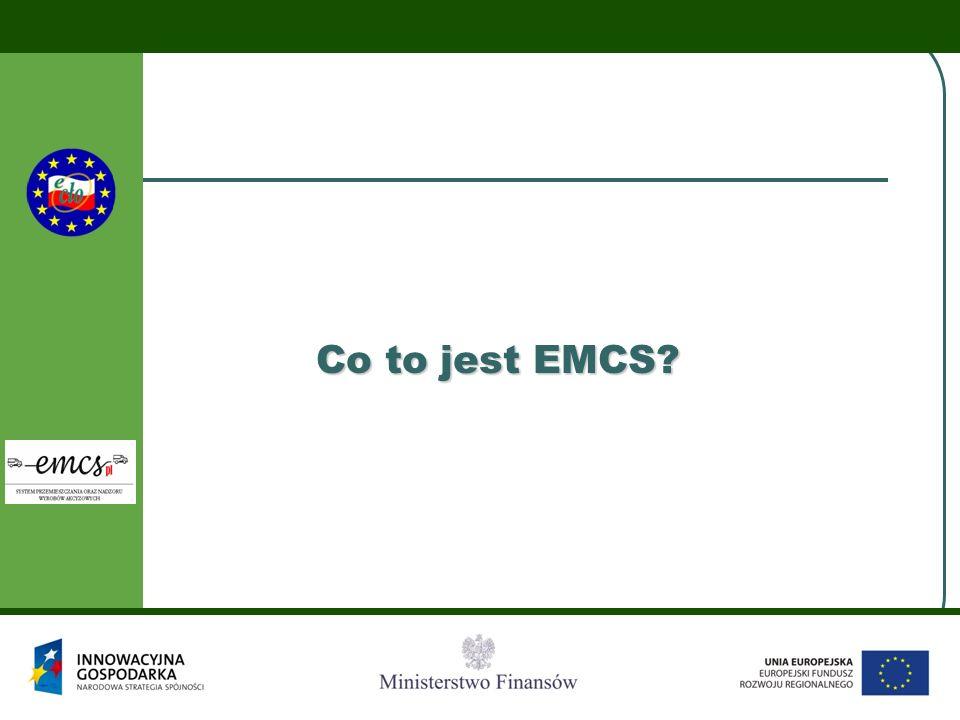E-MAIL  Darmowy kanał komunikacyjny  Generator komunikatów online/offline  Zapisany komunikat przesyłany do EMCS PL za pomocą poczty elektronicznej