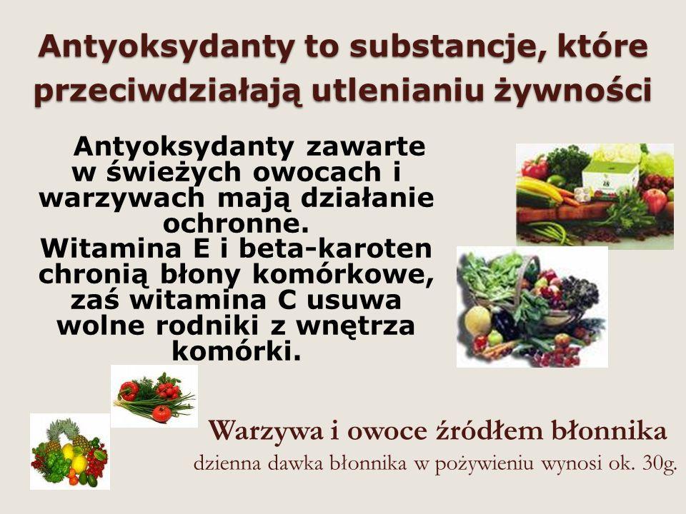 Pieczywo źródłem błonnika Spożywaj pieczywo z gruboziarnistego przemiału mąki np.: chleb żytni, chleb razowy